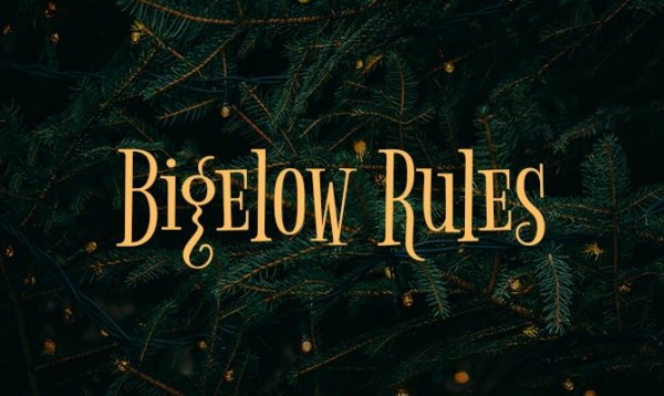 bigelow rules free holiday fonts
