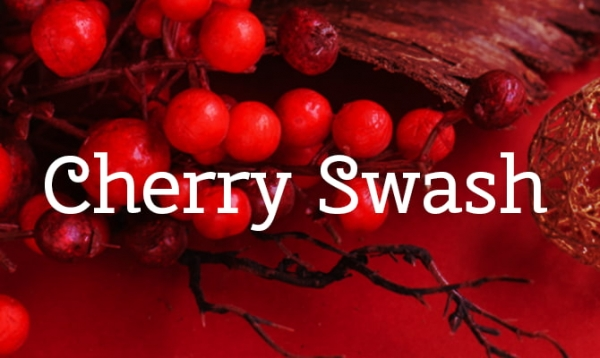 cherry swash christmas font free