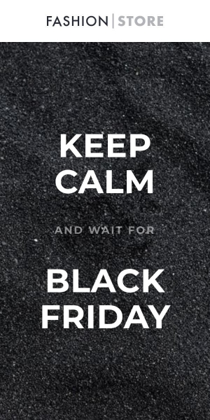 keep calm and wait for black friday template