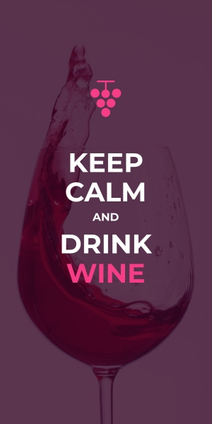 keep calm and drink wine poster template