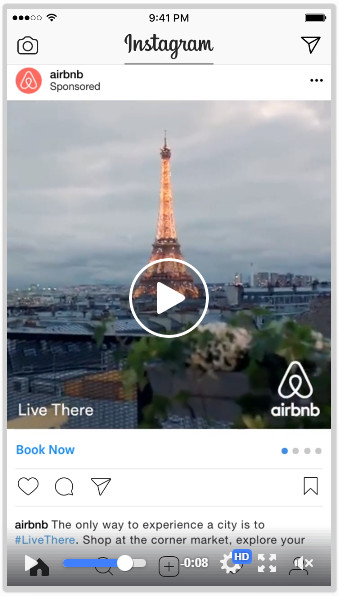 Airbnb Experiences video ad