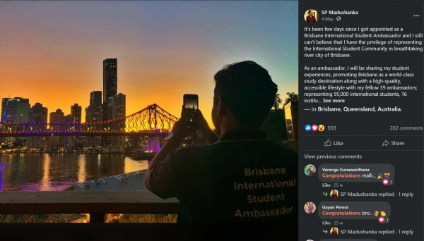 student ambassador Brisbane