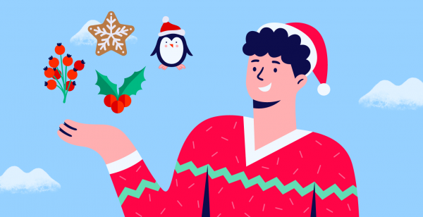 How to make a Christmas card with Bannersnack