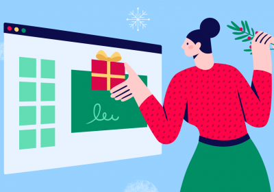 Design your own christmas cards with Bannersnack