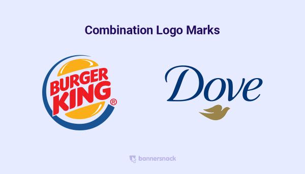 combination logo marks
