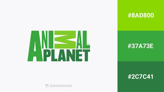 green logo animal planet