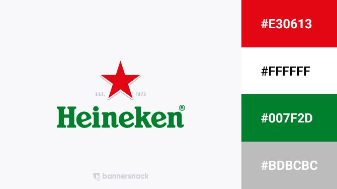 red and green logo heineken