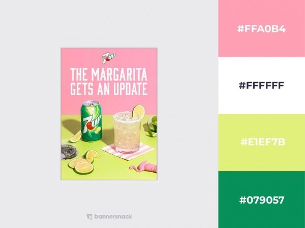 7up Margarita Pinterest Post Example