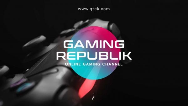 youtube banner template gaming republik