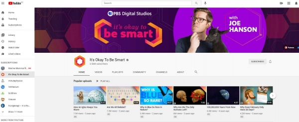 youtube cover design photo it's okay to be smart