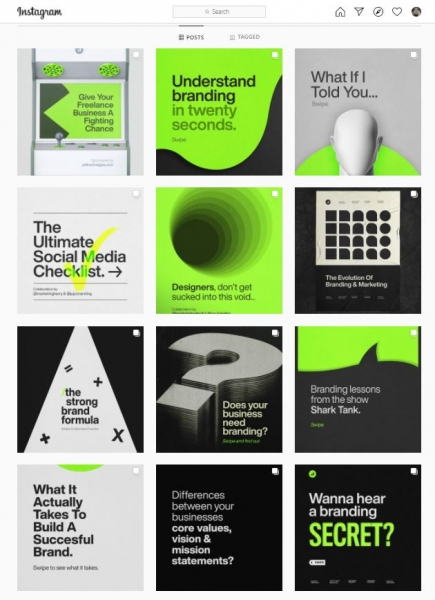 social media design consistency juju branding