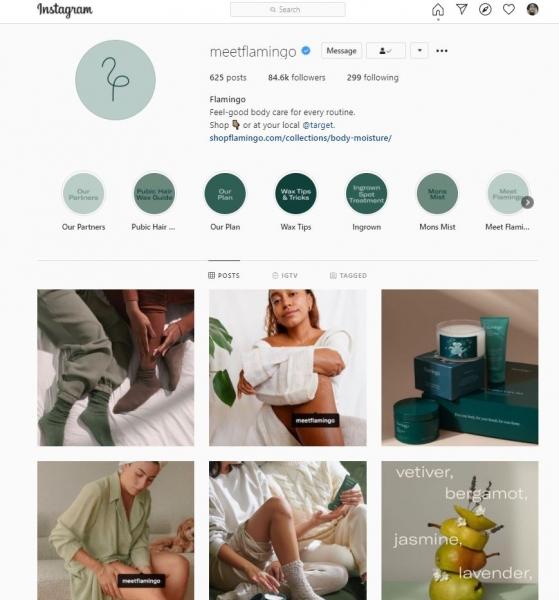social media design consistency meetflamingo