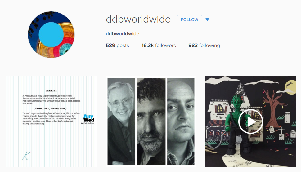 ddb worldwide Instagram Feed