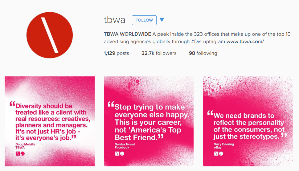 TBWA creative advertising agency