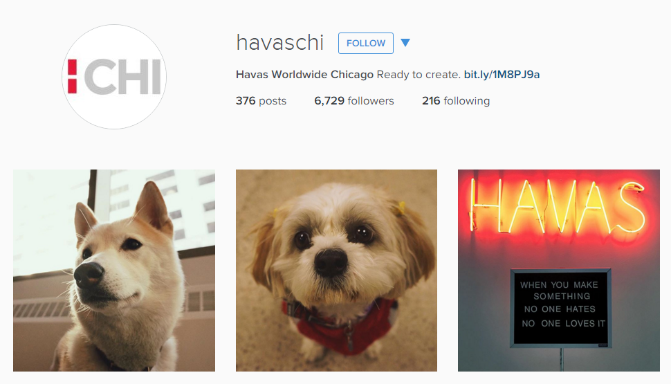 Havas Worldwide Chicago Instagram Feed
