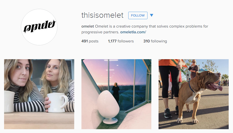 Omelet Instagram Feed