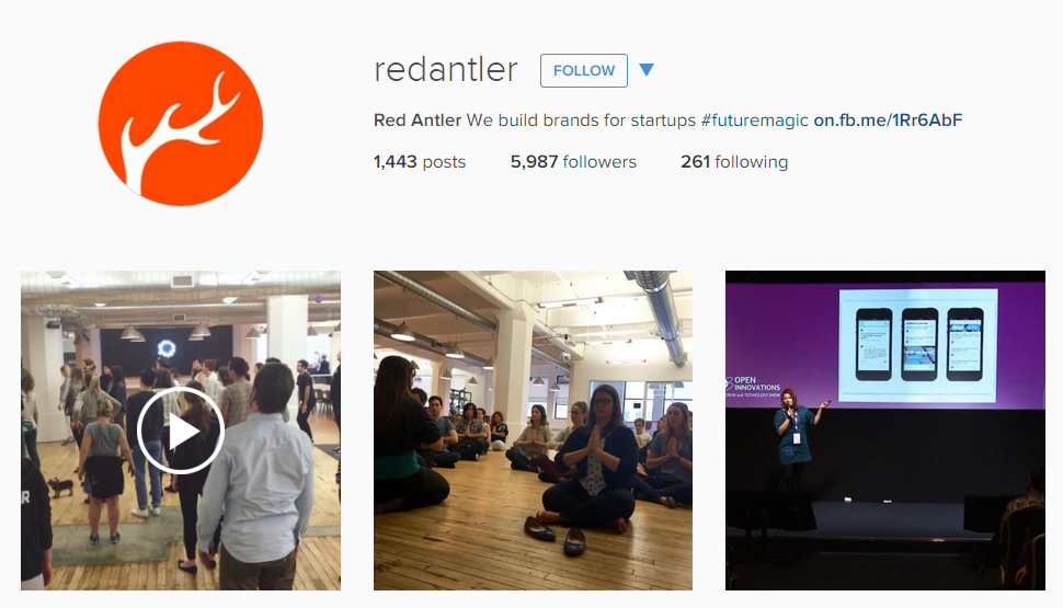 Red Antler Creative Instagram Feed