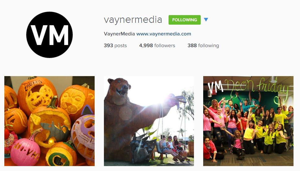Vaynermedia Instagram Feed